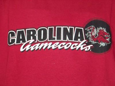 USC South Carolina Gamecocks T Shirt Youth L 12 14 Large NCAA SC