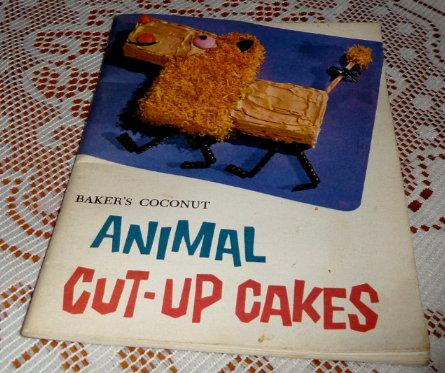 Bakers Coconut Animal Cut Up Cakes
