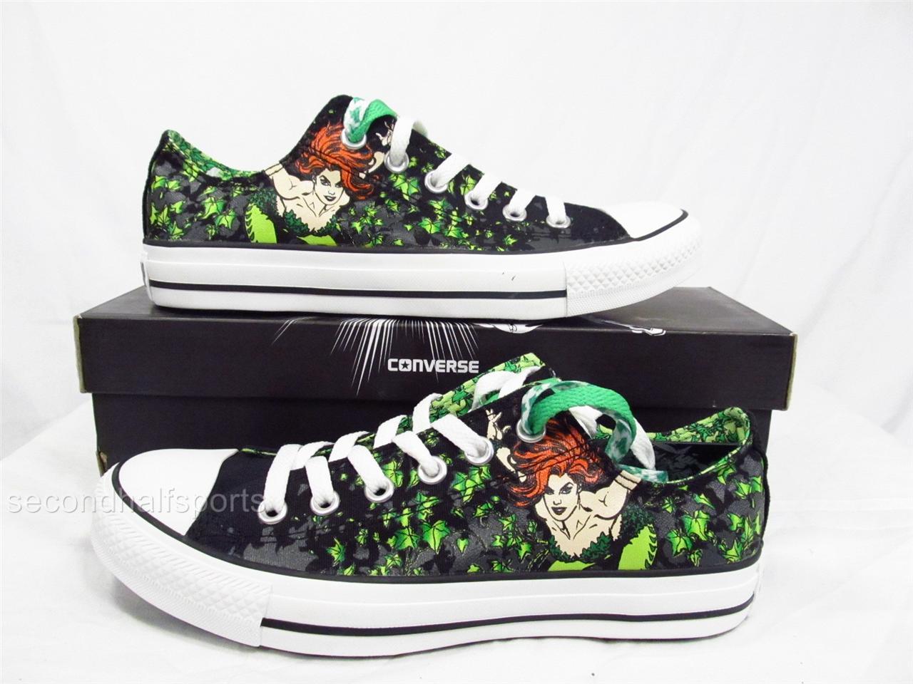 f7ec5ef8bac27d Converse BATMAN POISON IVY Chuck Taylor All Star Shoes DC Comics ...