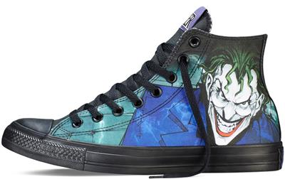 Converse DC COMICS The Joker Chuck Taylor Batman Suicide Squad All ... 55da6d509