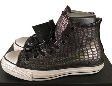 cea2e2bfec1c Converse by John Varvatos Chuck Taylor All Star Silver Scales Leather  Sneaker