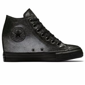 Converse Chuck Taylor All Star Lux Wedge Mid Women's Shoes ...