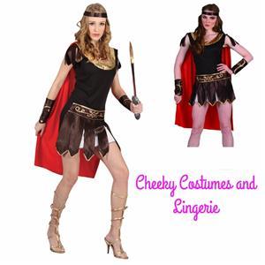 Roman Gladiator Lady Warrior Princess Costume One Size 8-12  sc 1 st  eBay & Roman Gladiator Lady Warrior Princess Costume One Size 8-12 | eBay