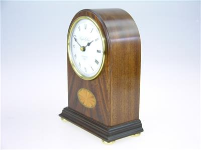 Knight Gibbins Mantle Clock In Wooden Case Ebay