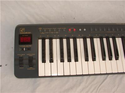 evolution mk 261 61 key midi keyboard controller ebay. Black Bedroom Furniture Sets. Home Design Ideas