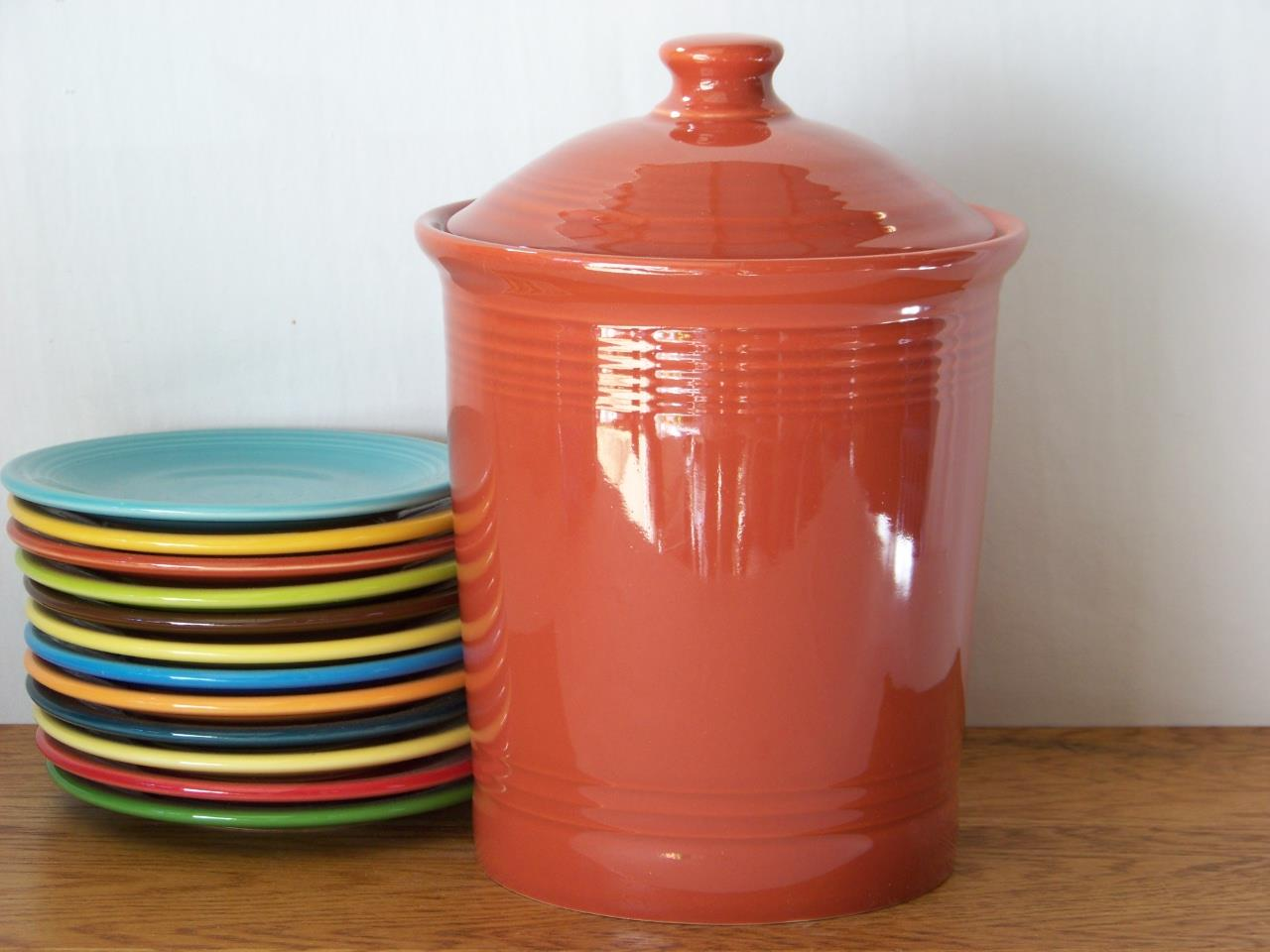 Fiesta-Large-Canister-1st-Quality-Choice-of-Colors thumbnail 2