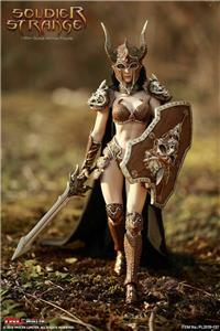 Tbleague PL2019-137 1//6 strano Soldato Guerriero Figura a Spalla Donna armature di