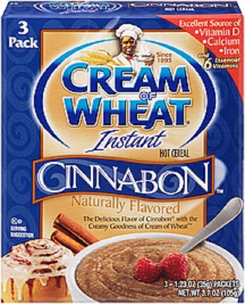 Cream Of Wheat Instant Hot Cereal--Original, Cinnabon, Or