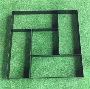 Strong Metal Paver Maker Mould 5 Brick Design Make Your