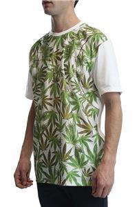 2X New Men/'s Weed Marijuana Mesh White T-Shirt Plantlife Jetlife 420 Supreme M