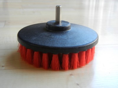 Heavy Duty Scrub Brush Car Carpet Mat 5 Quot Round Brush With