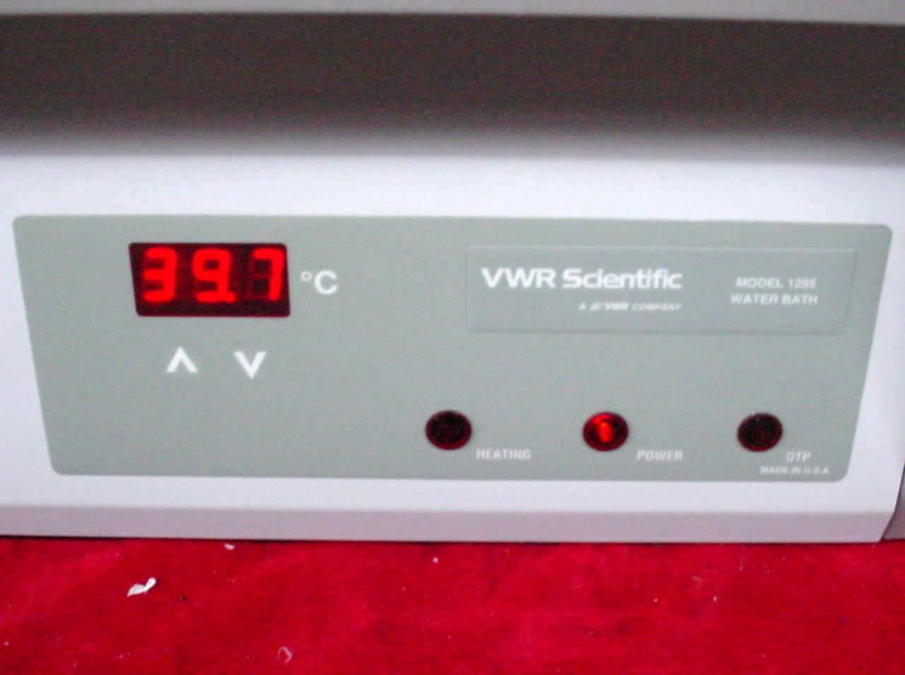 VWR SCIENTIFIC 1255 DUAL CHAMBER HOT WATER BATH | eBay