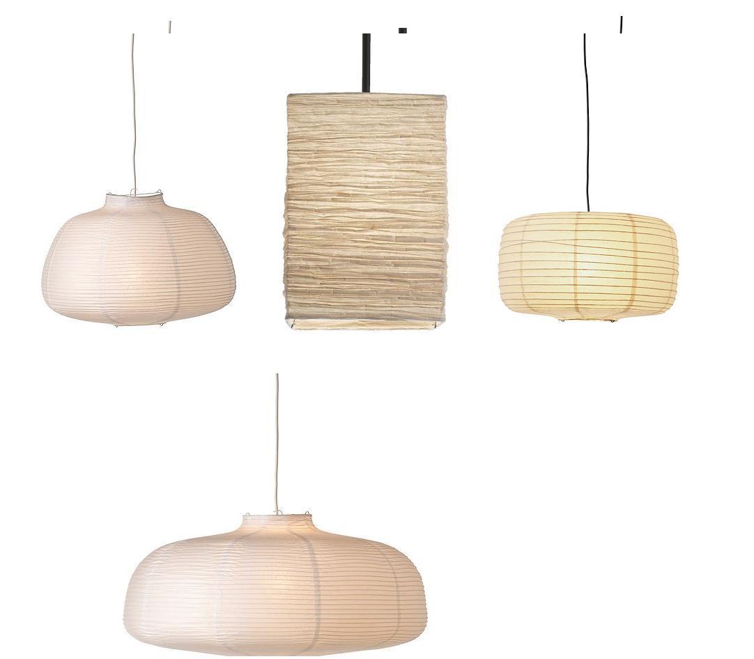 Pendant Lamp Shade Paper: Ikea Paper Pendant Lamp Shade RICE PAPER LAMP