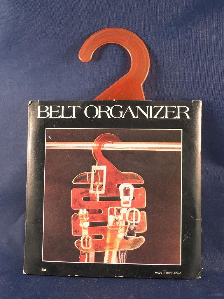 Vintage Cintura Armadio Organizer 1970's Nos