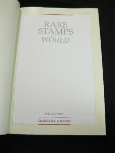 Details about RARE STAMPS OF THE WORLD 1995 by CLARIDGE'S LONDON