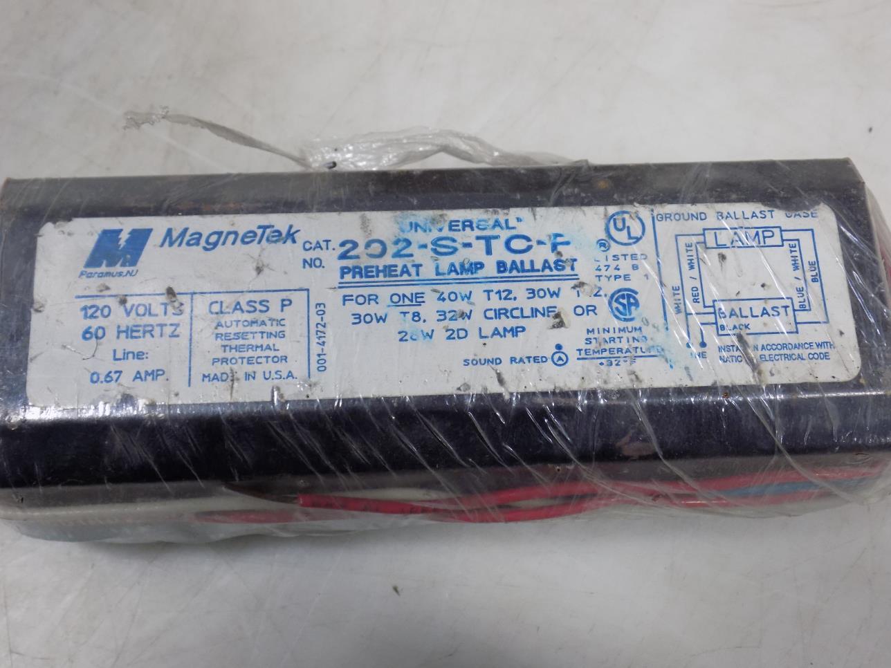 MAGNATEK 445-RS-WS-TC-P