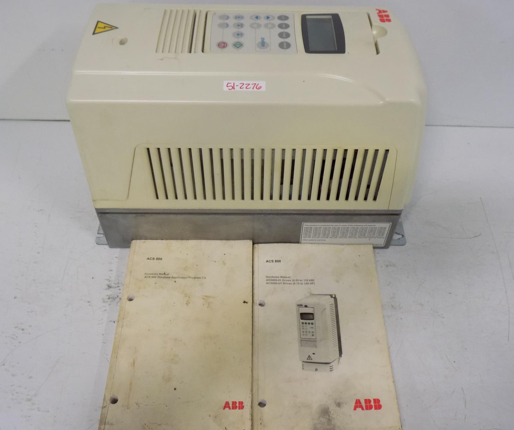 ABB INDUSTRIAL DRIVE ACS800-U1-0006-5+P901