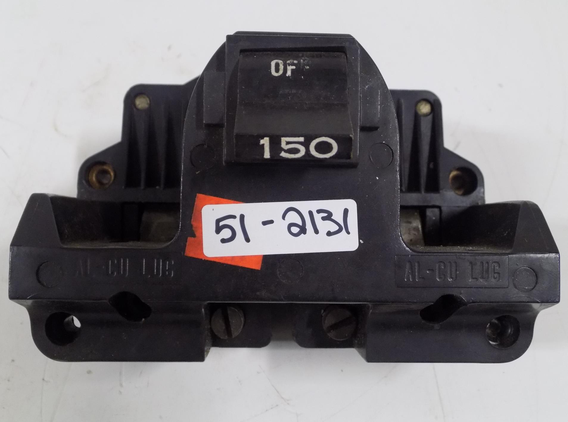 NEW Federal Pacific 2B150 Main Circuit Breaker