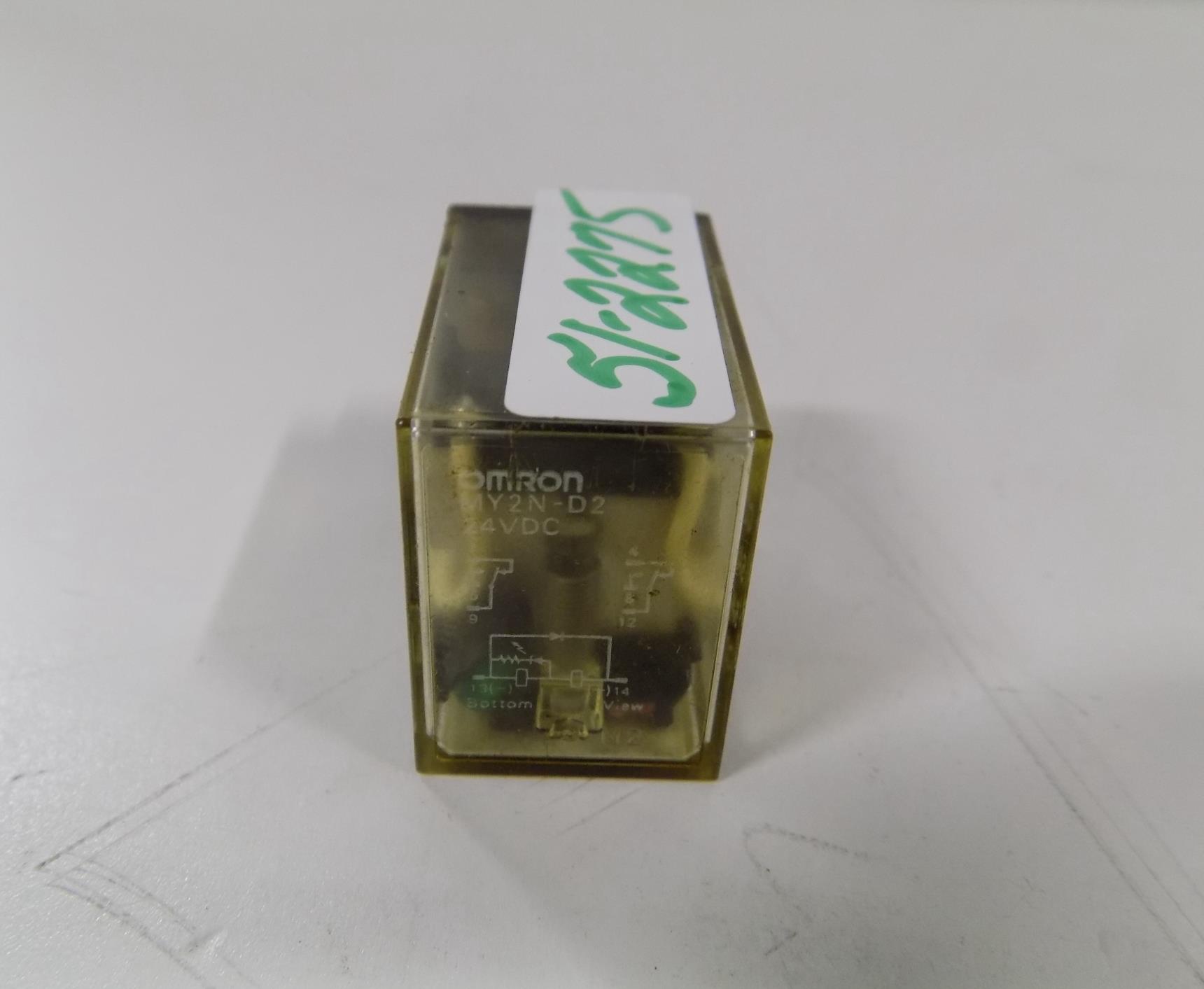 Omron MY2N-D2 Relay 24VDC 10 Amp 250VAC//30VDC