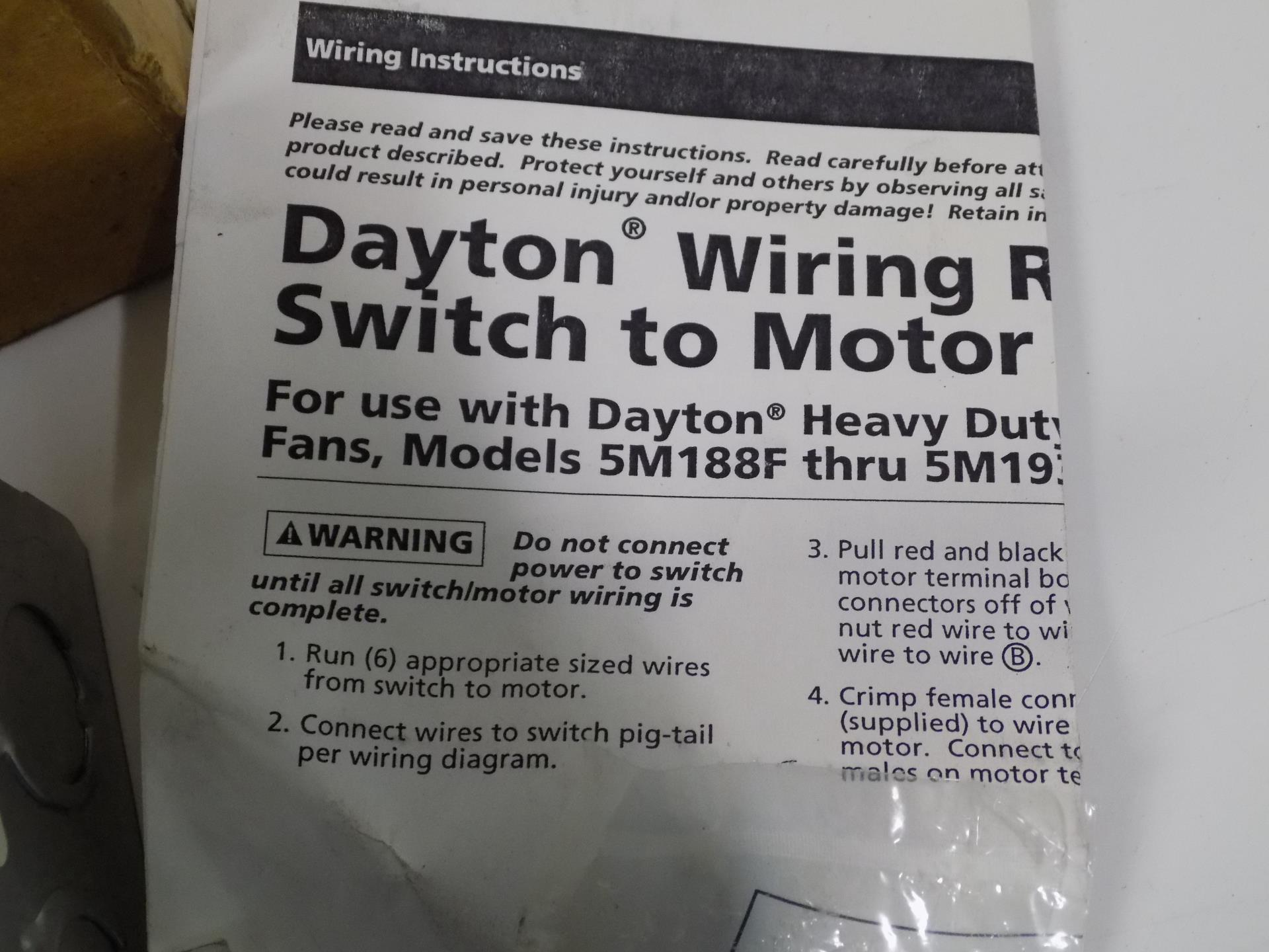 Dayton Reversible Motor Wiring Diagram. Dayton Split Phase ... on
