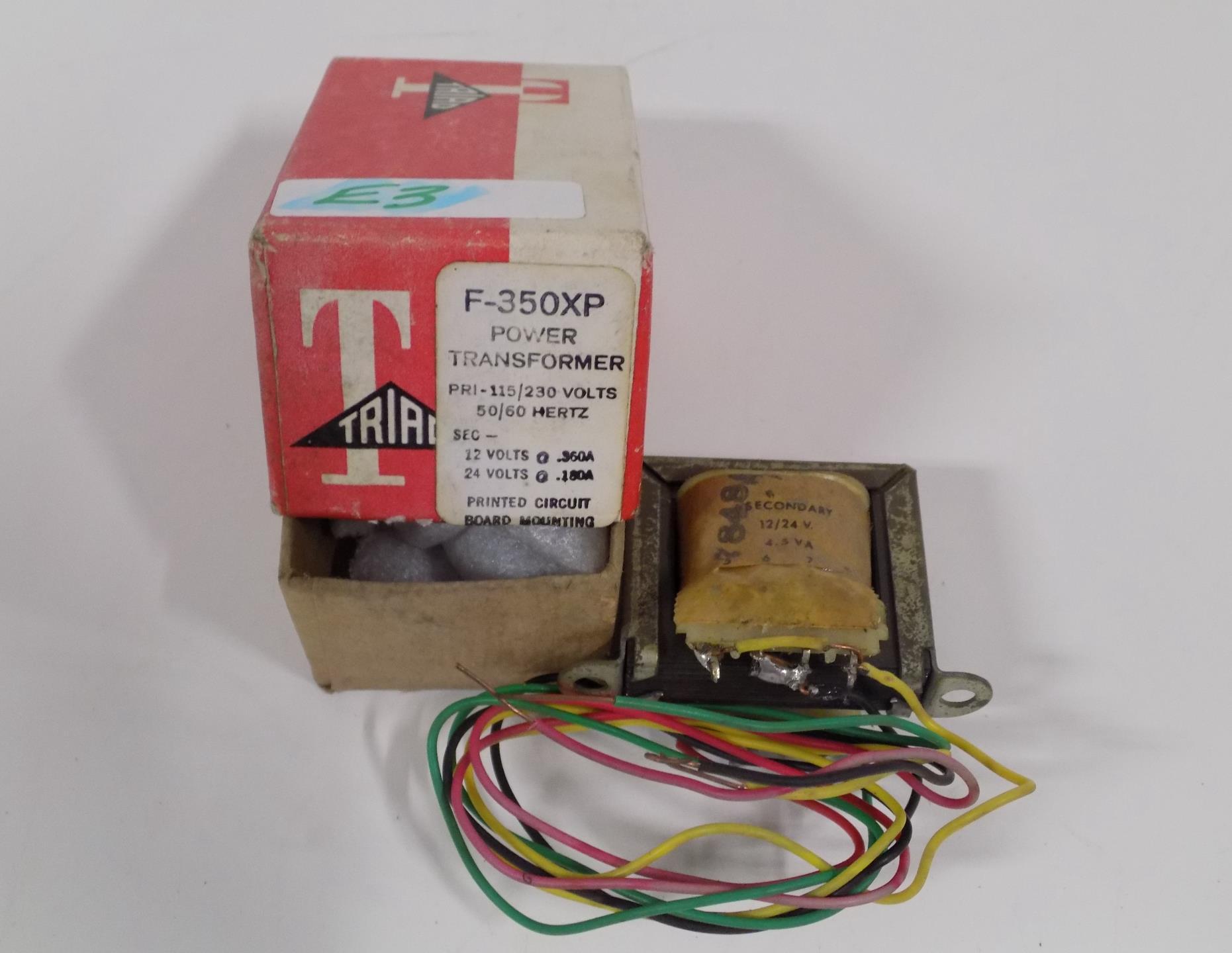 Triad Magnetics F-369XP Power Transformer