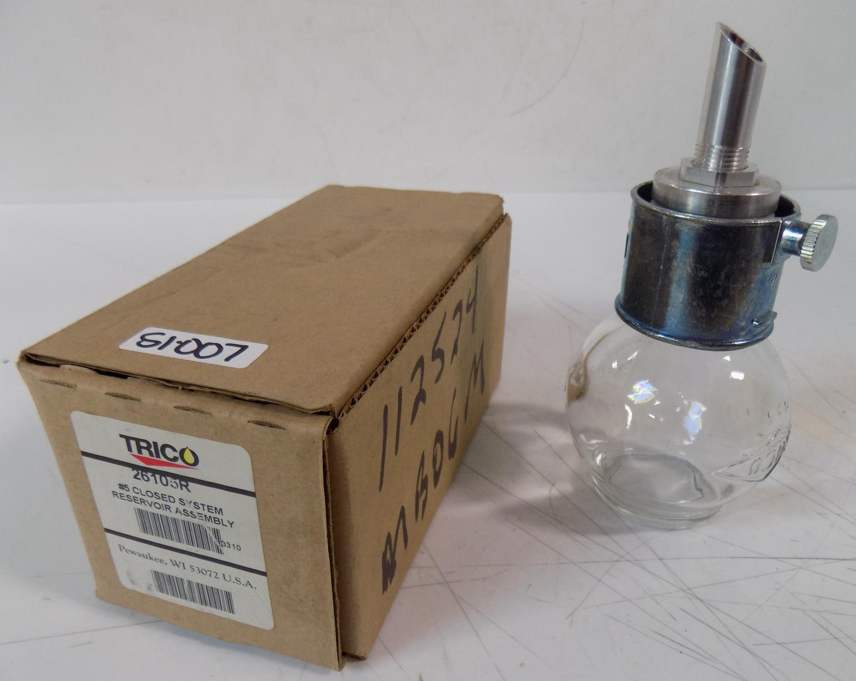 Details about TRICO #5 CLOSED SYSTEM RESERVOIR ASSEMBLY 26105R NIB