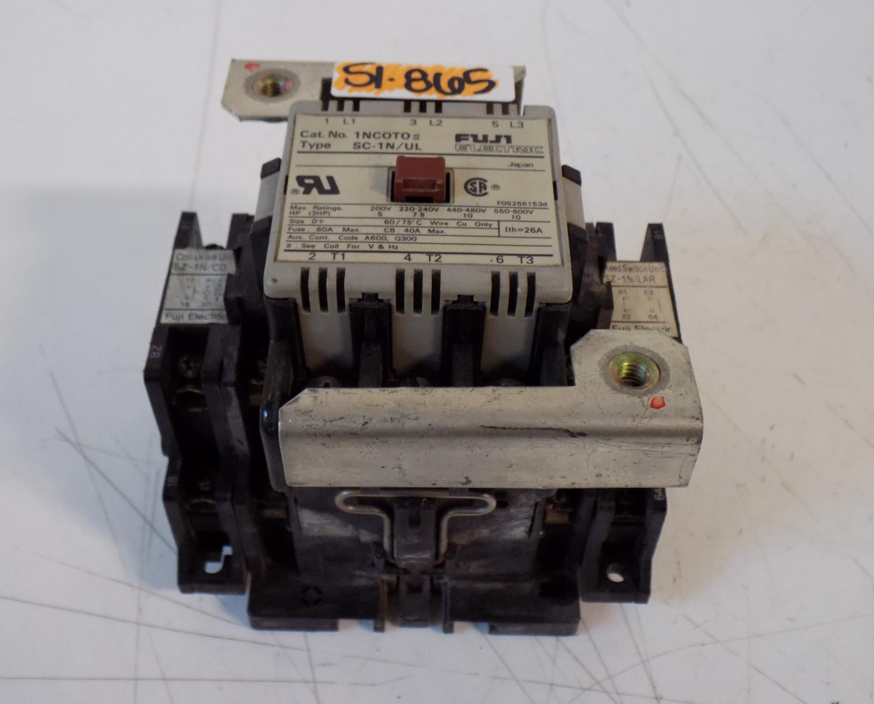 Fuji SC-1N Fuji Electric Contactor Type SC-1N