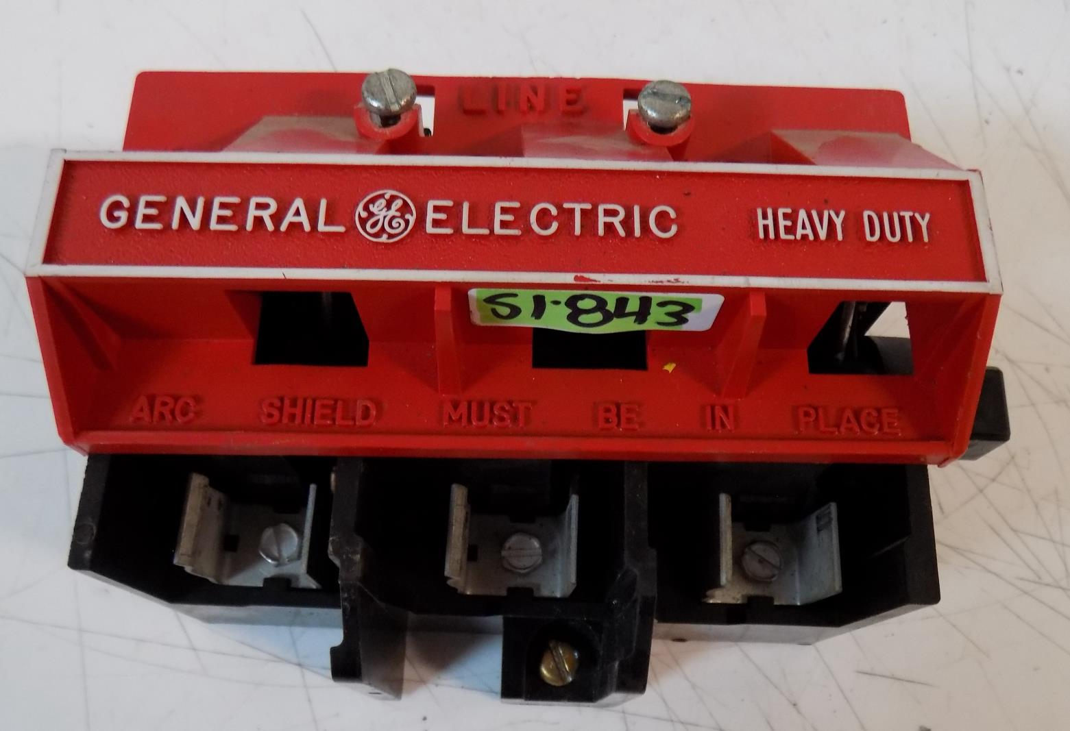 General Electric Heavy Duty Fuse Holder