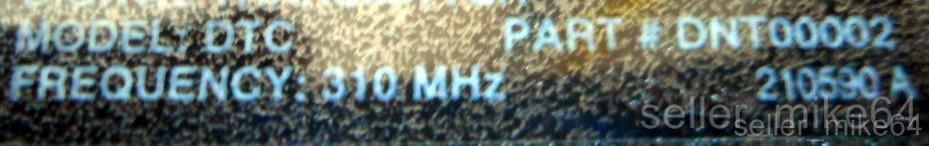 NIB BOX OF 5 SINGLE CHANNEL DIGITAL TRANSMITTER 310 MHZ LINEAR DNT00002