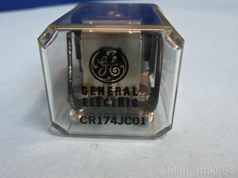 General Electric Cr174jc01 115  230 Volts 50  60 Hertz 10 Amps Relay  Nib  Pzf