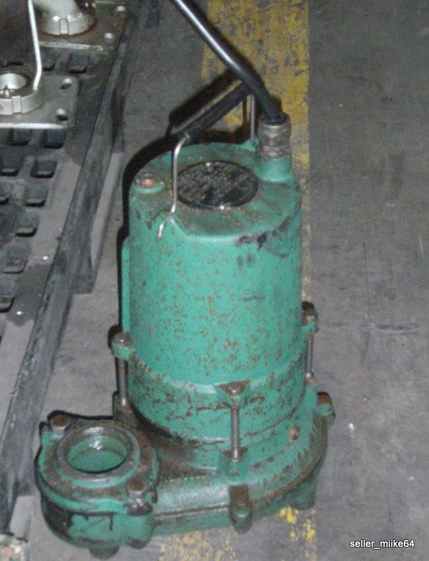 Hydromatic Pumps 1 0hp Submersible Sewage Pump Spd100mh4  Pzf
