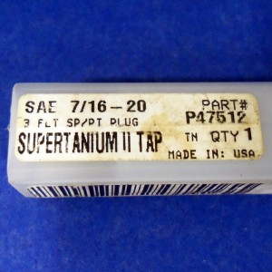 """10-32 H3 PULLEY TAP HSS PITTSBURG 2323172 NIB *PZF* 6/"""" OVERALL LENGTH"""