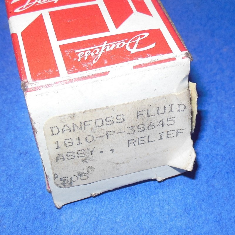 Danfoss Direct Acting Spool Relief Valve Cartridge 1g10 P