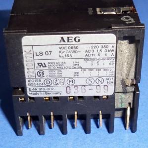 Aeg Ls07 24vdc Coil Mini Relay 910 302 036 99 Lot Of 10