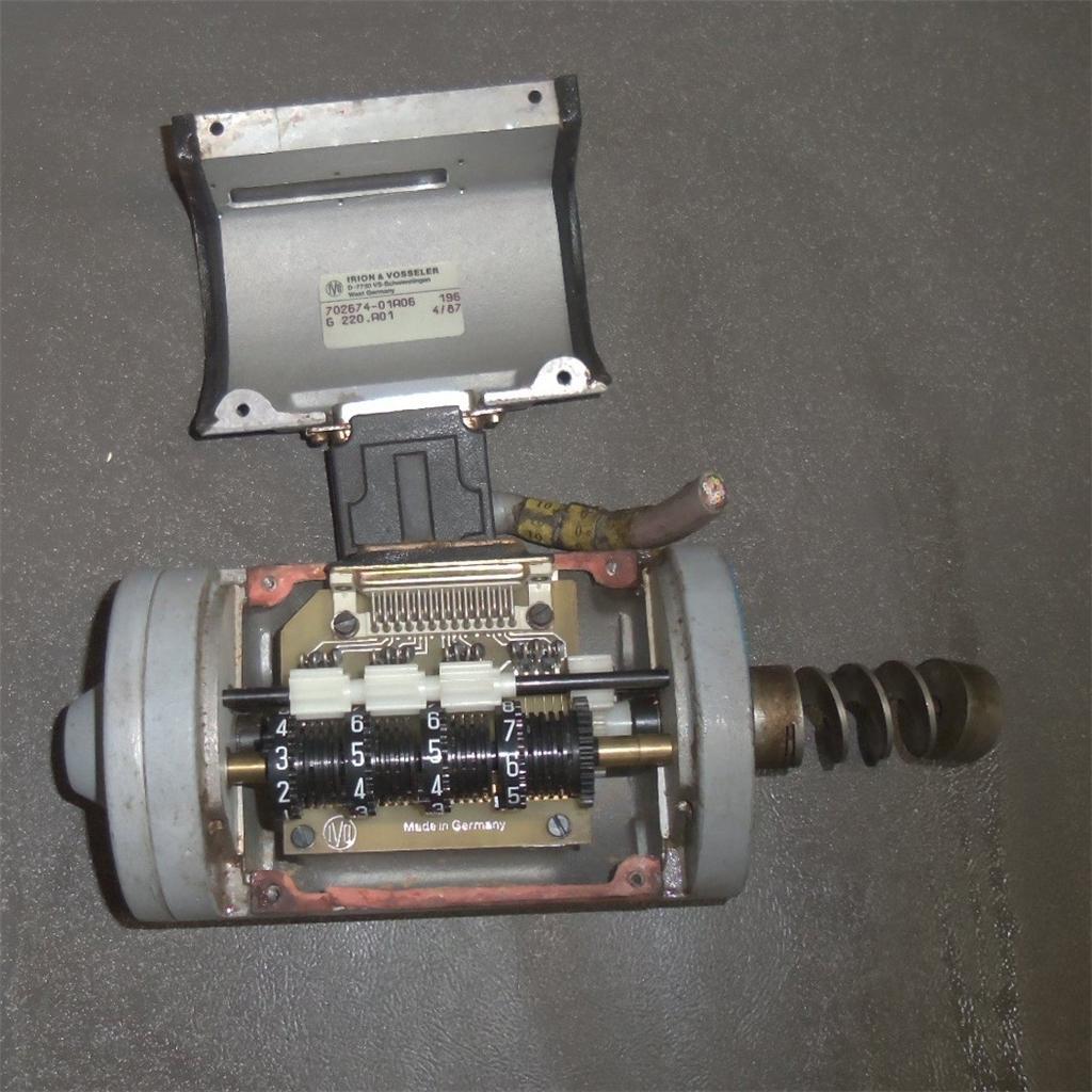 Irion /& Vosseler G 220.A01 BCD-Code Counter
