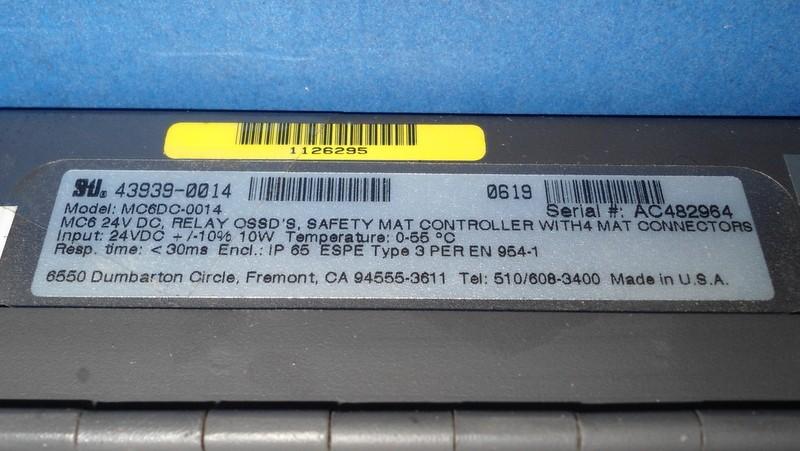 Scientific Technologies Safety Mat Controller Mc6dc 0014