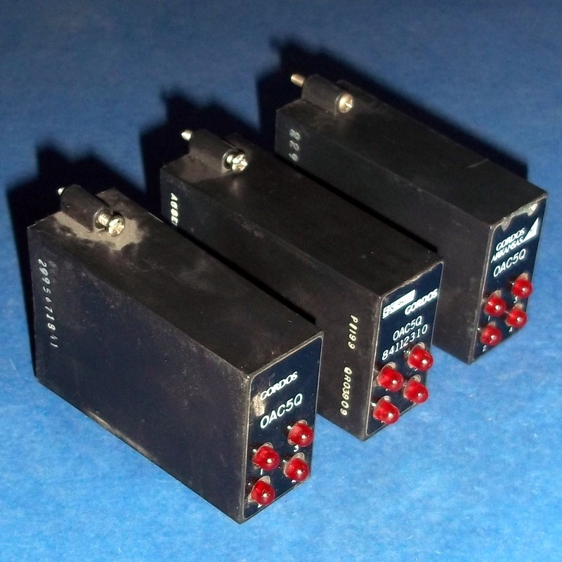 3-60VDC 3A 2.75-8VDC Out In Lot of 8 Gordos SM-ODC5 Relay Module