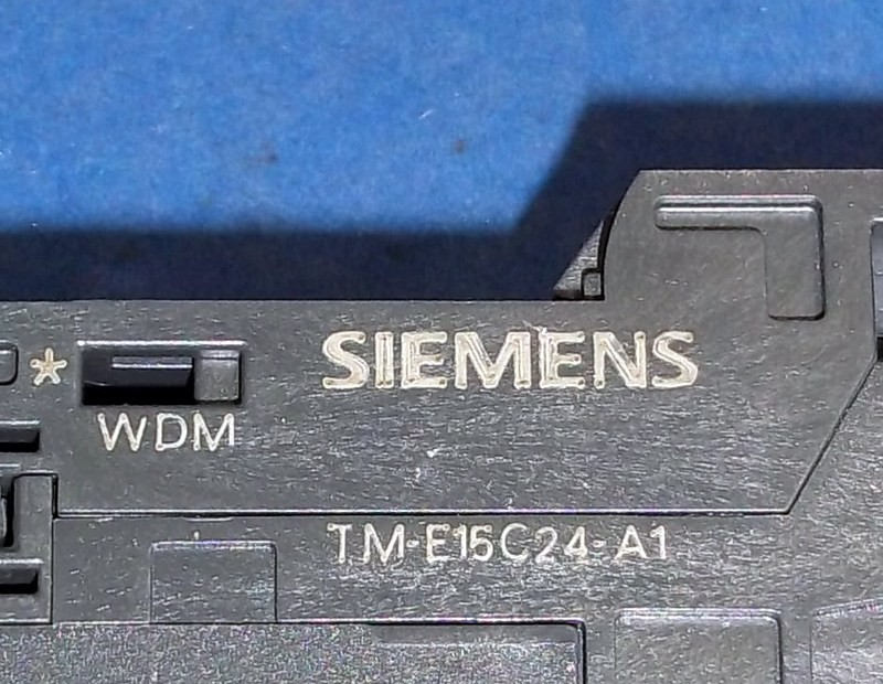 Siemens s7 salida digital módulo 6es7 132-4bb30-0aa0 e3 terminal módulo tm-e15c24