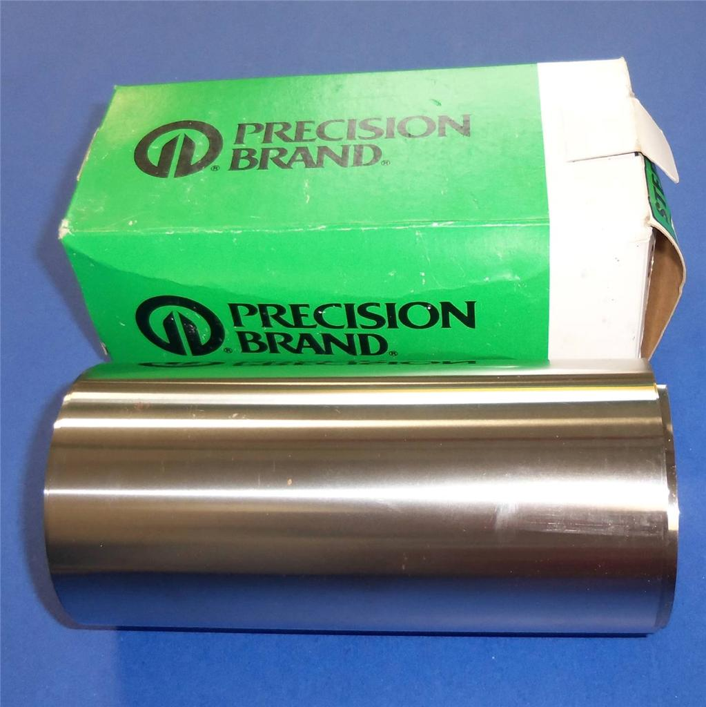 """1 new PRECISION BRAND 16265 6/"""" x 100/"""" .0035 Gauge Cold Low Steel Shim Roll"""