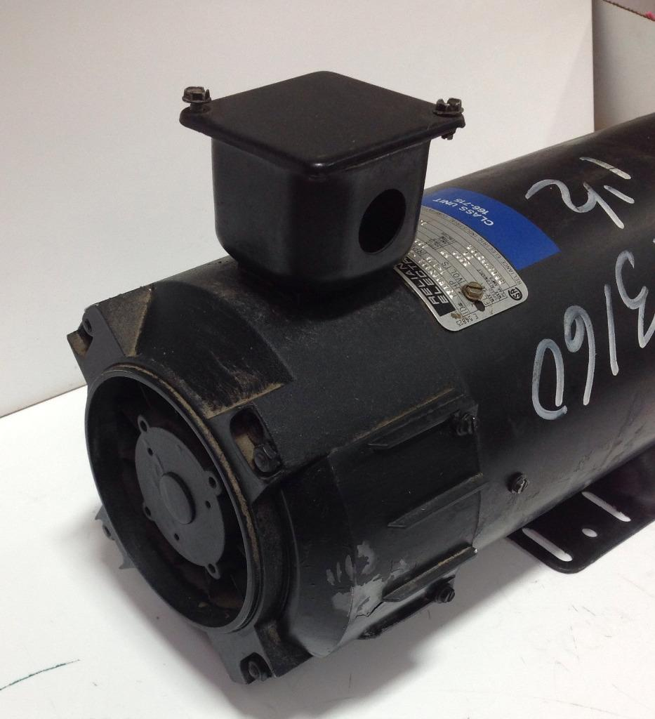 Reliance electric 1 5hp 1750rpm type tpr electric motor for Types of electric motor