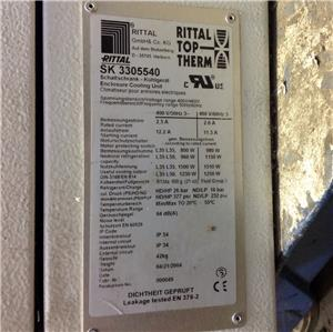 Rittal Top Therm 400 460v Wall Mount Cooling Unit Sk