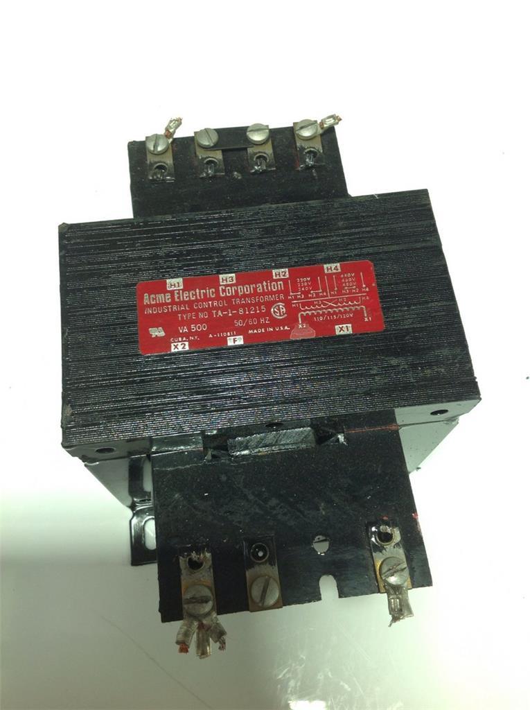 Acme Industrial Corp 500va 50  60hz Industrial Control