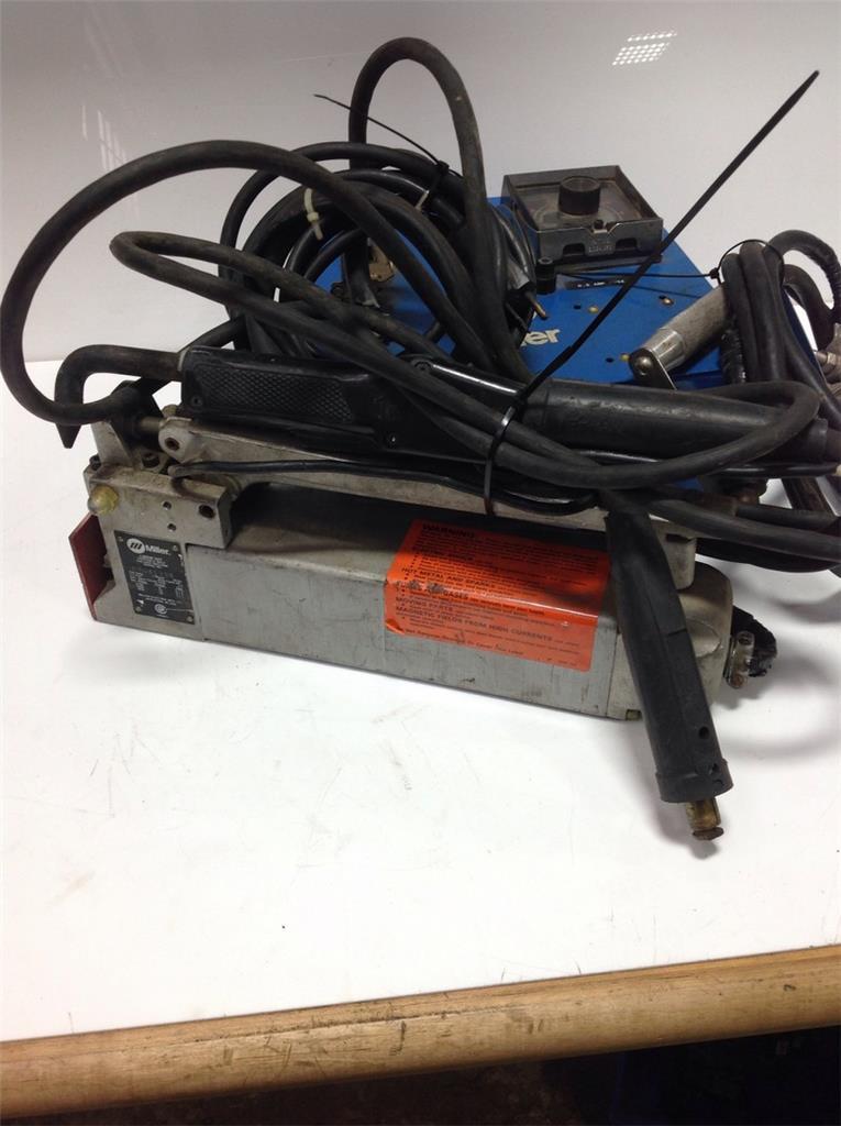 Miller 1ph Spot Weld Timer W Portable Spot Welding Machine