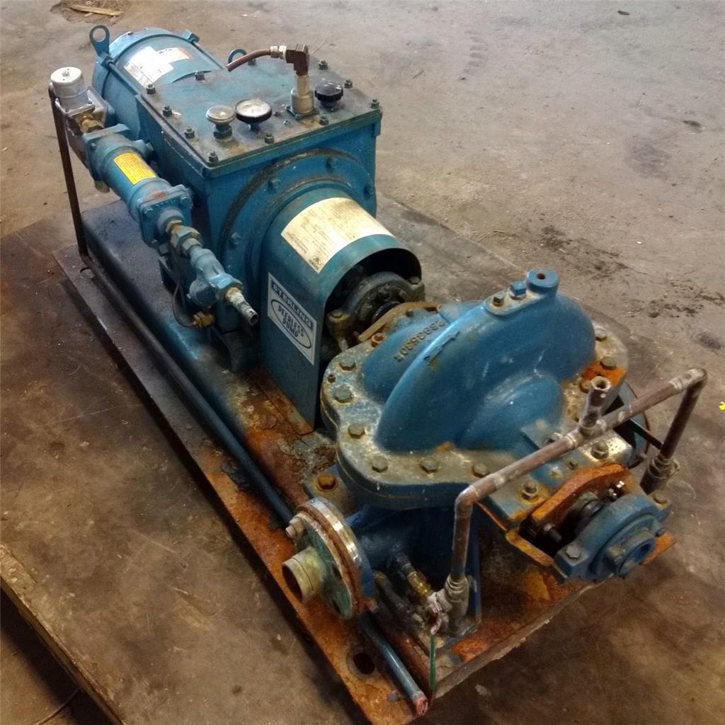 Details about STERLING PEERLESS PUMP VARIABLE SPEED DRIVE MODEL 2AE11