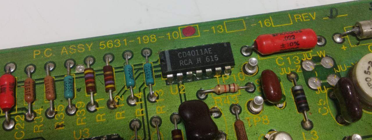 LINK ENGINEERING TORQUE CONTROL CIRCUIT BOARD CARD 2031-CA 2031CA