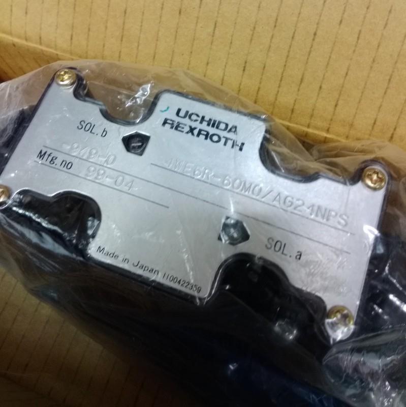 Uchida Rexroth Solenoid Valve 4we6r 60m0 Ag2 74np New Ebay