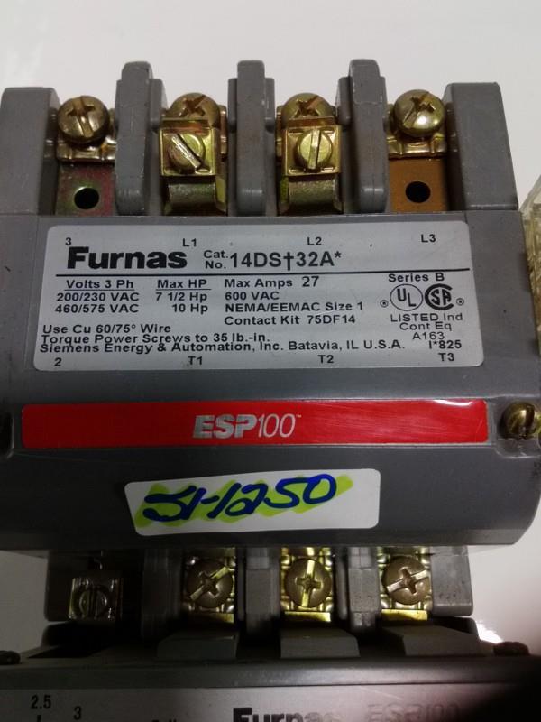 FURNAS 3PH 200//230V SIZE 1 CONTACT 14DP32AF SER A