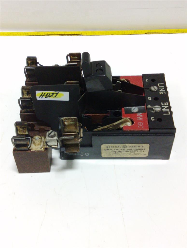 GENERAL ELECTRIC 3-POLE QMW SWITCH THMC32