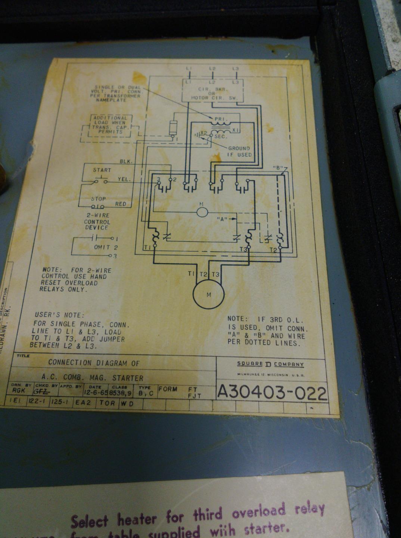 Ge Control 600v Magnetic Starter A30403 022 Cr2940bc202a Ebay Lionel Switch Wiring Diagram Ls Mah04102016 Shelf51 8661 Jobcodenpo306