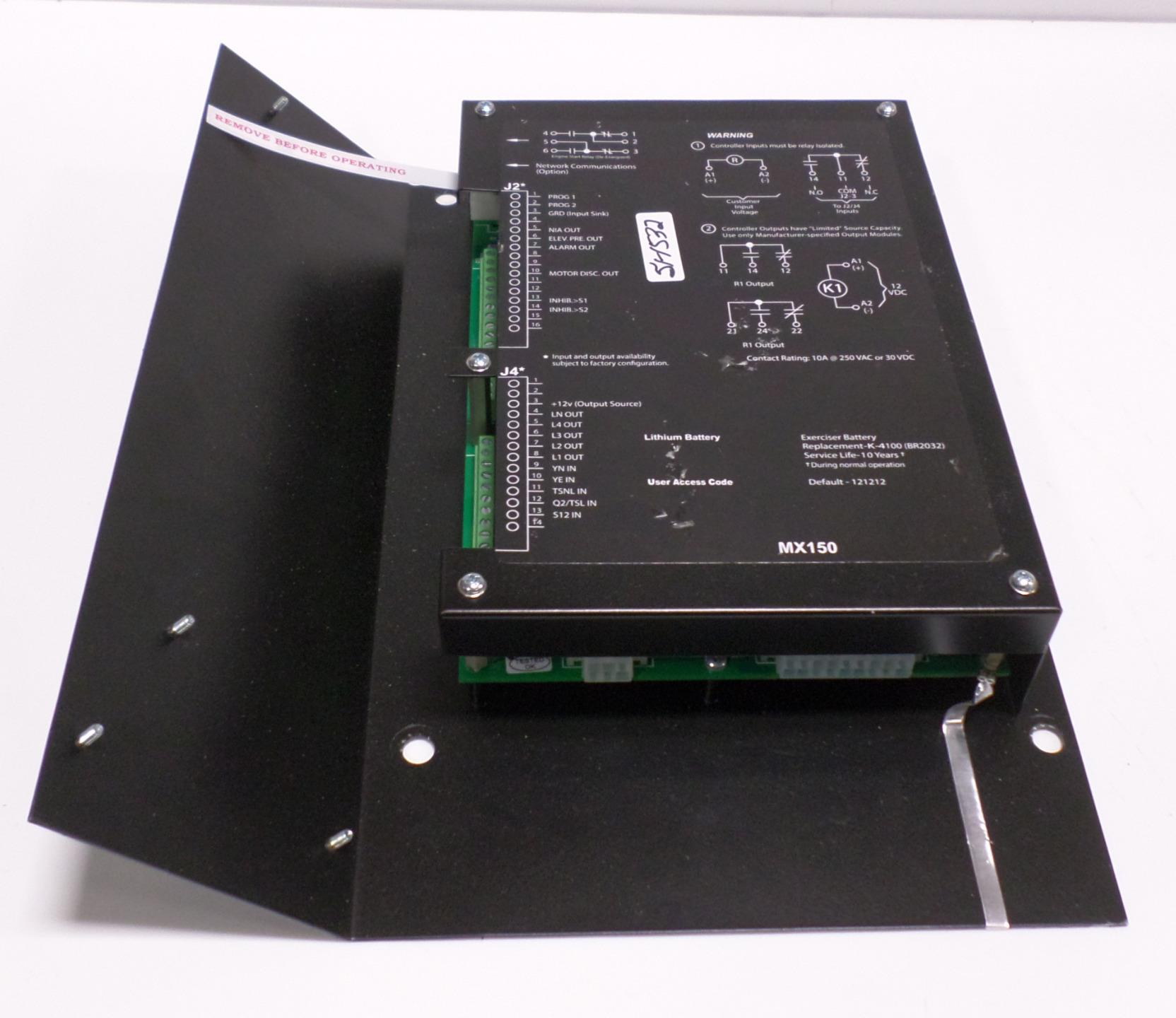 Zenith Automatic Transfer Switch Controller Mx150 Ebay Details About Ats Build Your